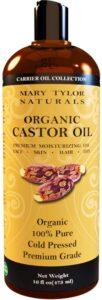 8. Mary Tylor Naturals Organic Castor Oil