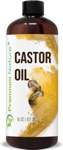 5. Premium Nature Castor Oil