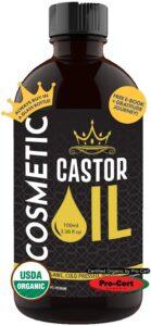 10. Queen of the Thrones Organic Castor Oil
